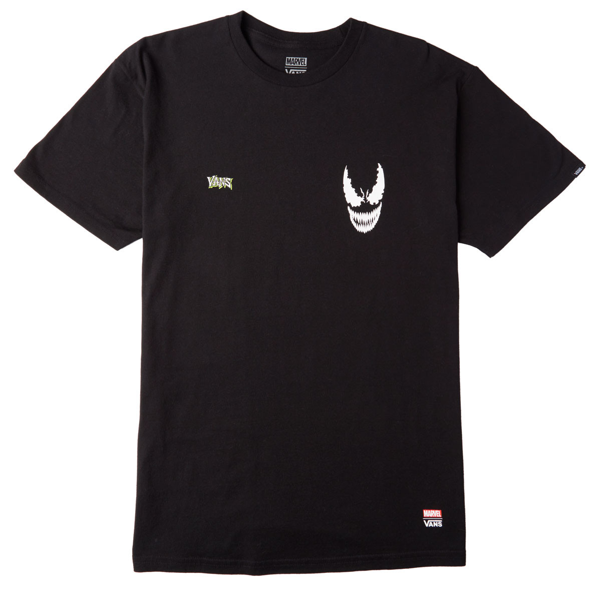 Vans x Marvel Venom T-Shirt - Black