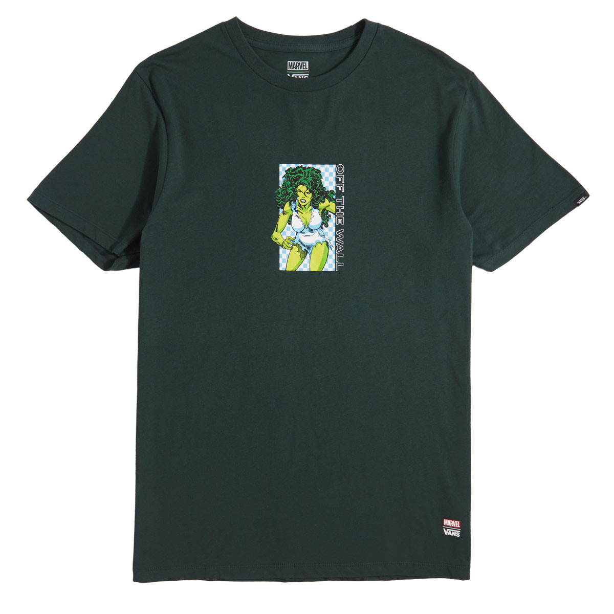 Vans x Marvel She Hulk T-Shirt - Darkest Spruce