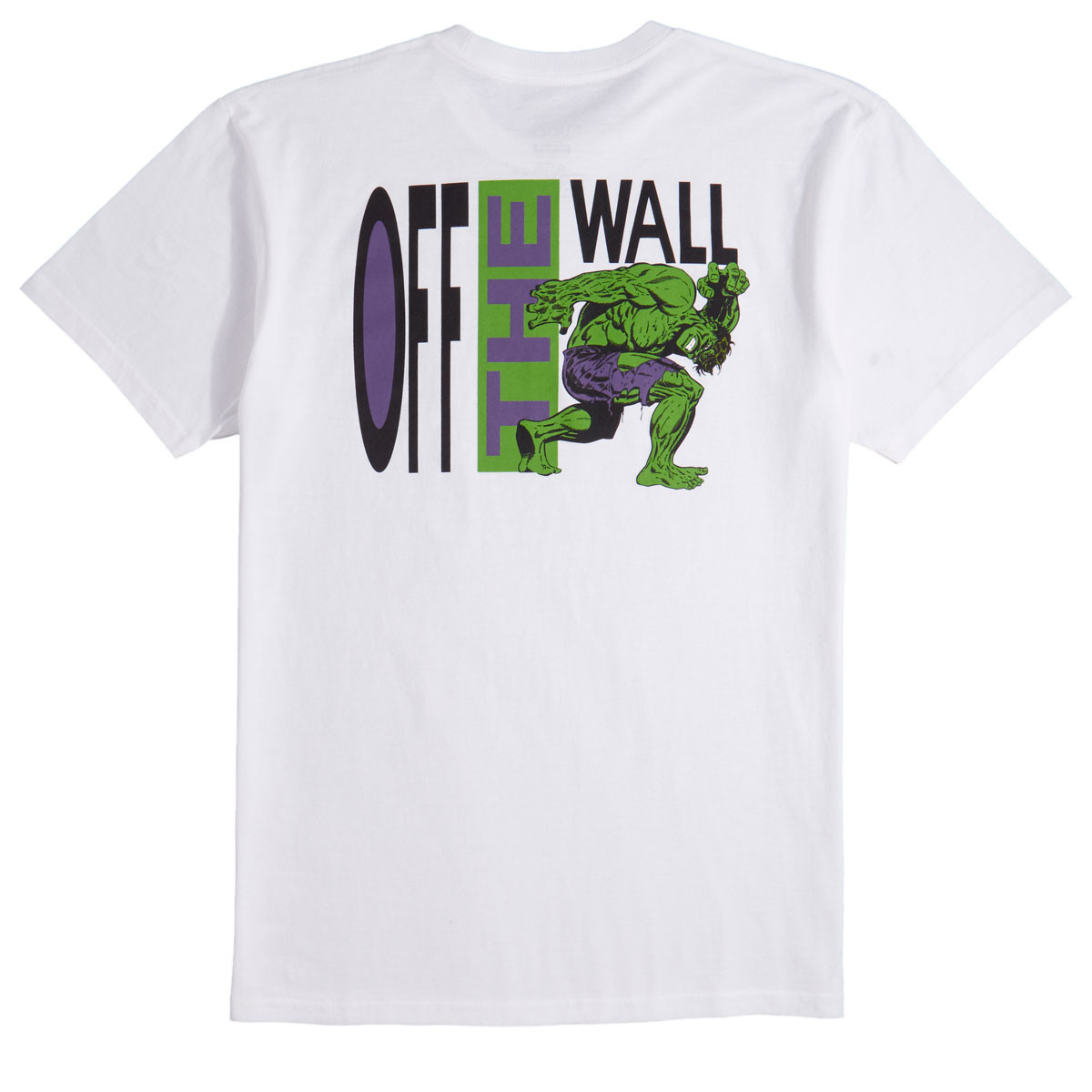 Vans x Marvel Hulk T-Shirt - White