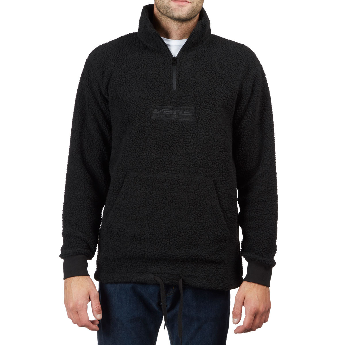 Vans Global Trespassers Quarter Zip Sweatshirt - Black e3a9fb3fa83e
