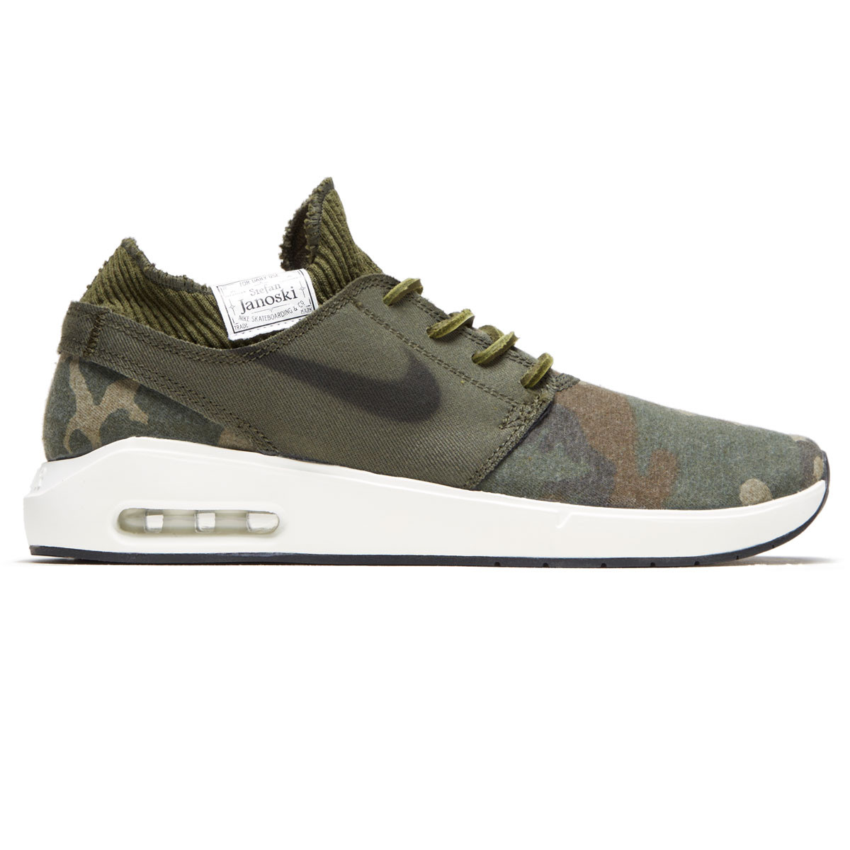 Nike SB Air Max Janoski 2 Premium Shoes Iguana Black