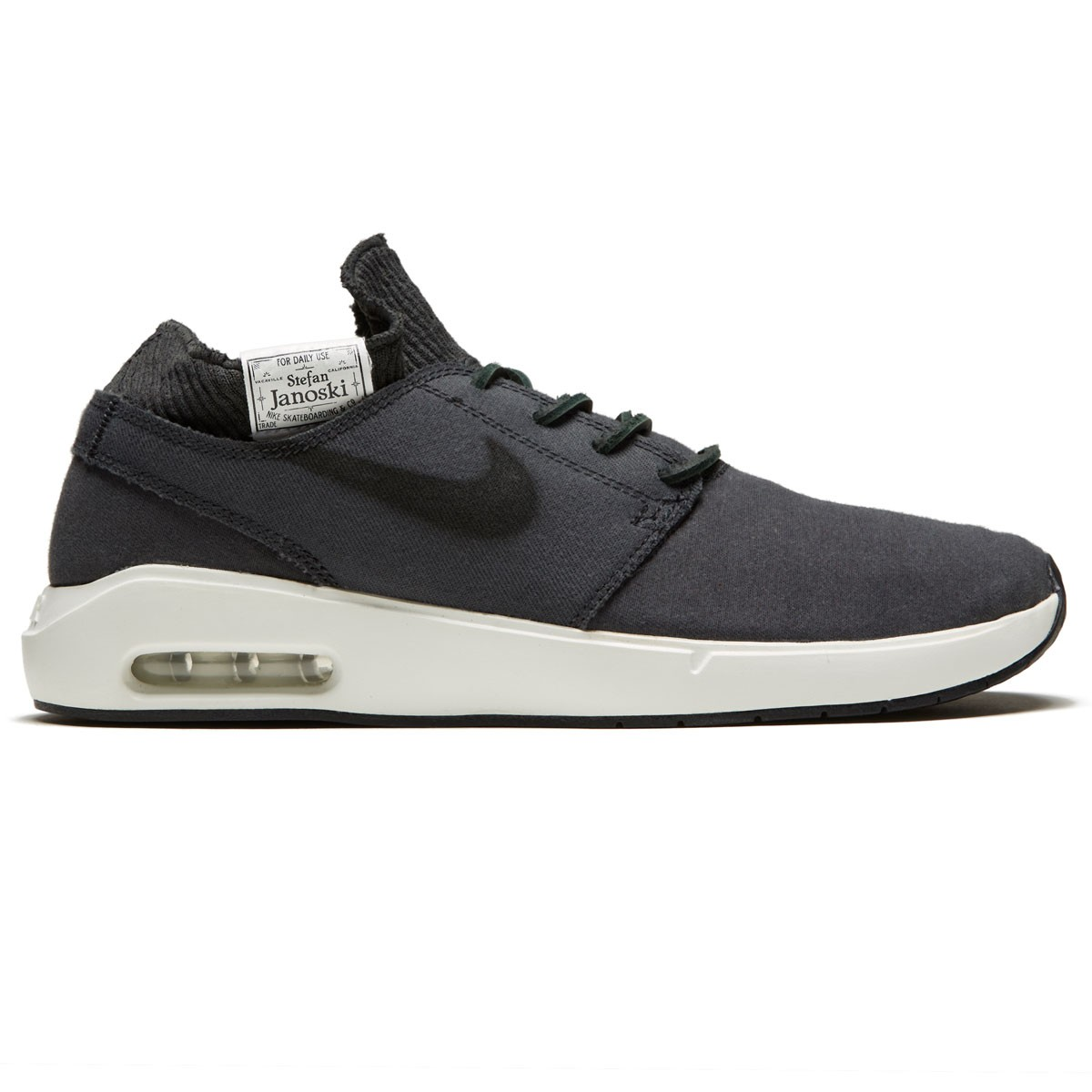 4d9bac49a7 Nike SB Air Max Janoski 2 Premium Shoes - Anthracite/Black/White