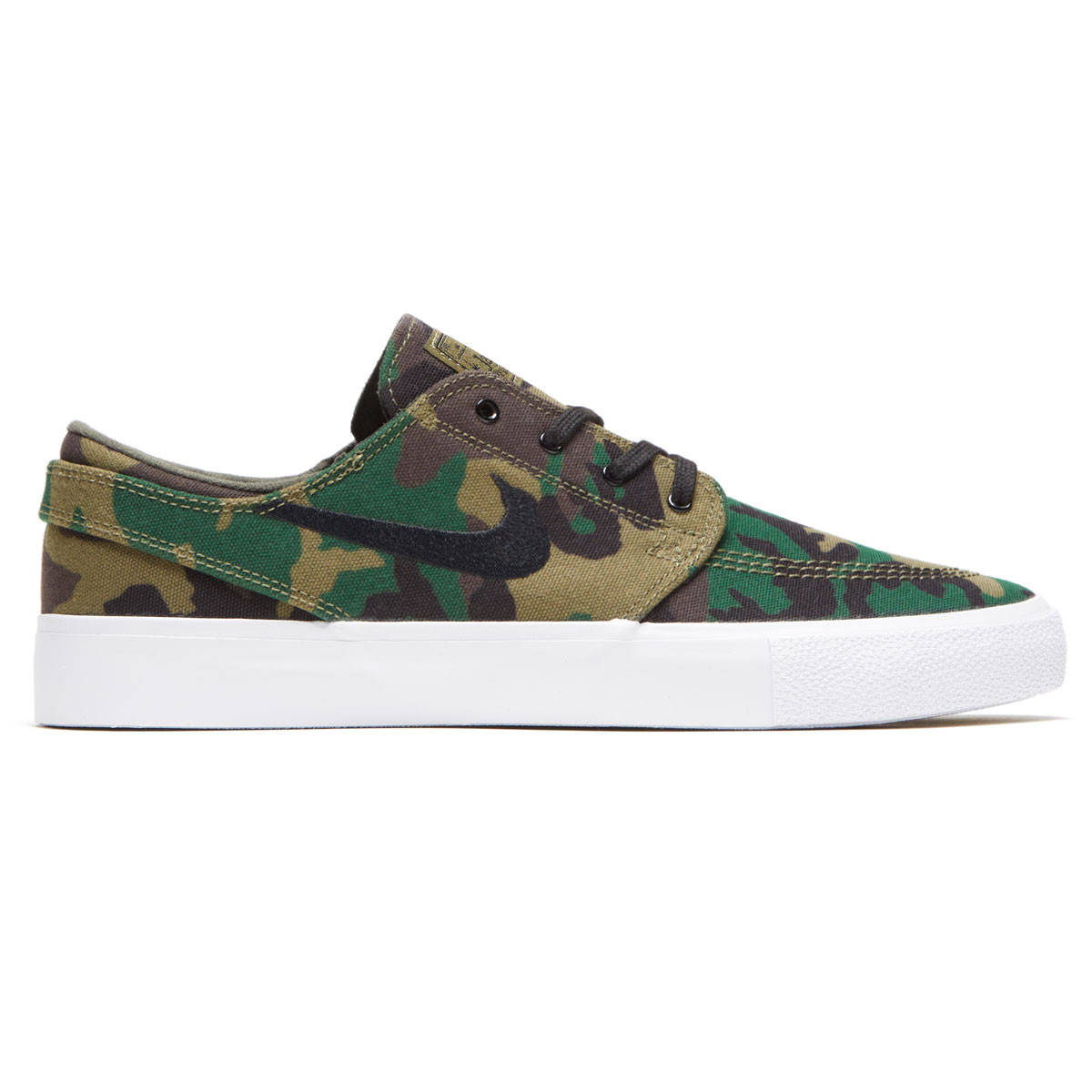 huge discount c2db3 75466 Nike SB Zoom Janoski Canvas RM Premium Shoes - Iguana Black Sequoia Gum