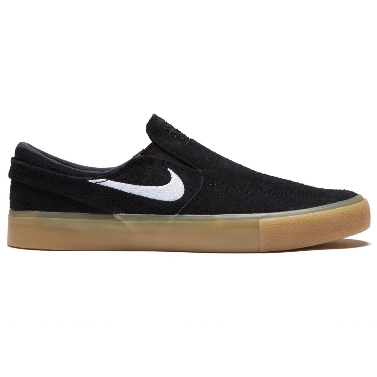 17da49298b Nike SB Zoom Janoski Slip RM Shoes - Black/White/Black/Gum Light