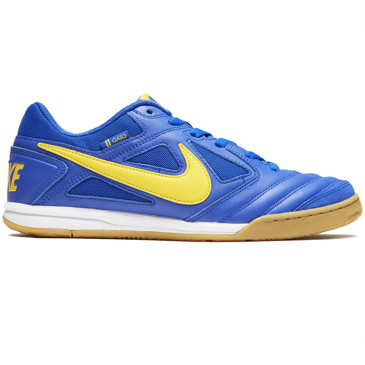hot sales fd1c9 af3b0 Nike SB Gato Shoes - Racer Blue Amarillo White - 6.5