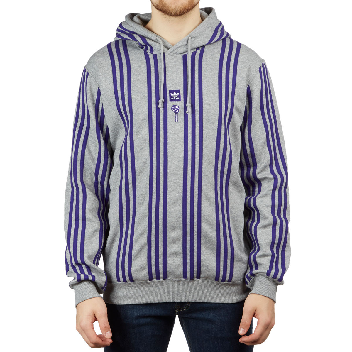 Adidas x Hardies Hoodie Core HeatherCollegiate Purple
