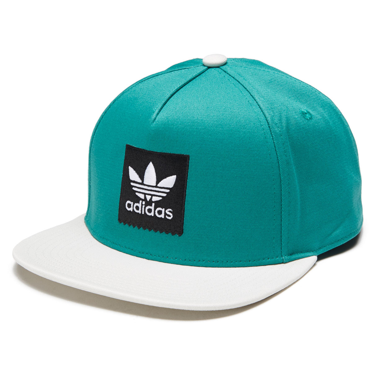 3208142071a7b Adidas 2 Tone Snapback Hat - Action Green Raw White