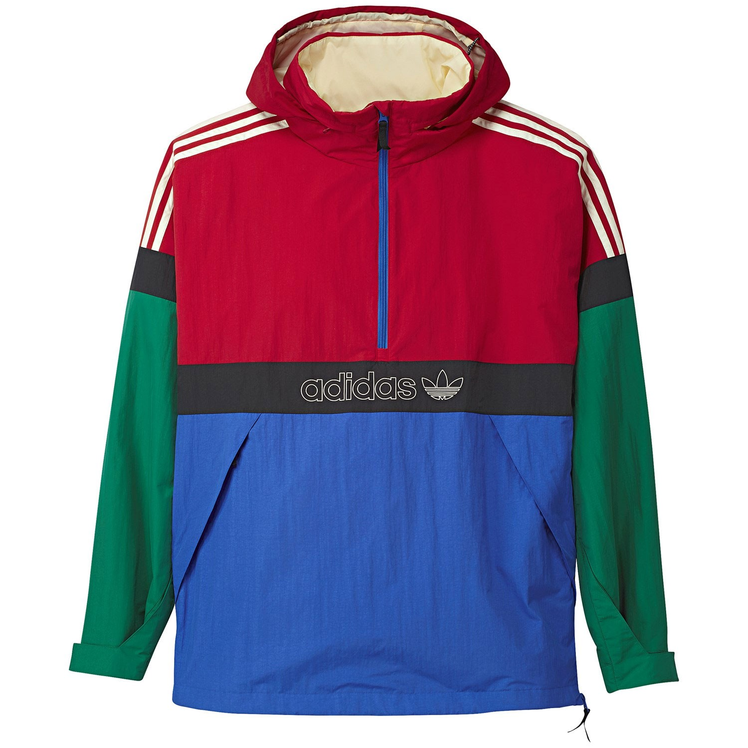 good quality really comfortable better Adidas BB Snowbreaker Snowboard Jacket - Bold Green/Power Red/Hirblue  /Carbon