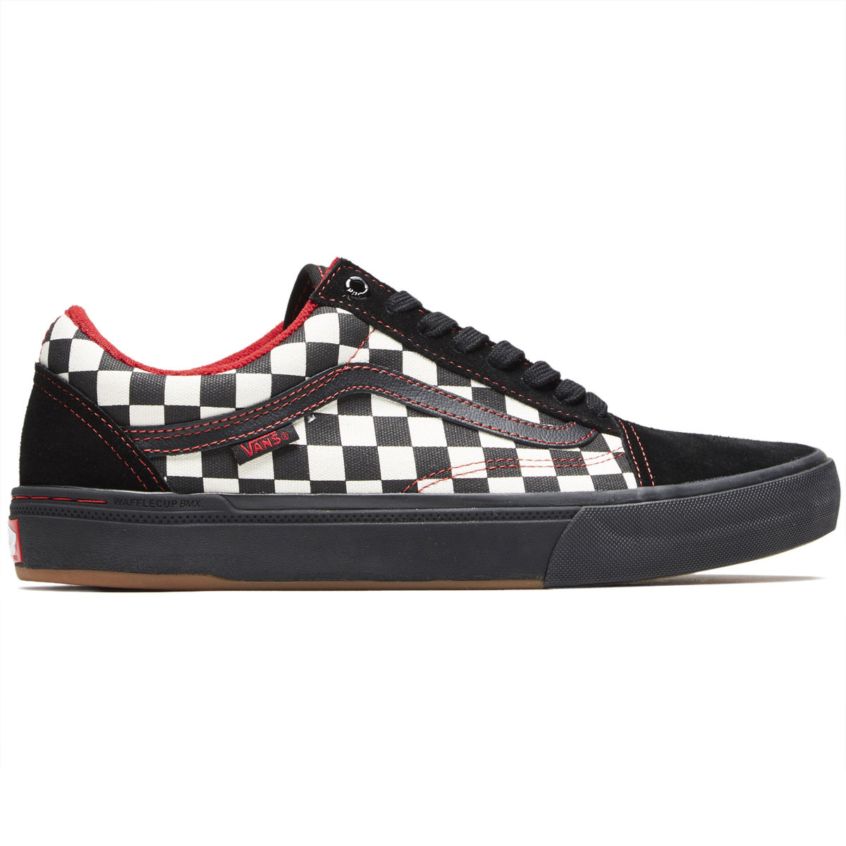 a8f477373926a4 Vans Old Skool Pro BMX Shoes - Kevin Peraza Black Checkerboard - 10.0
