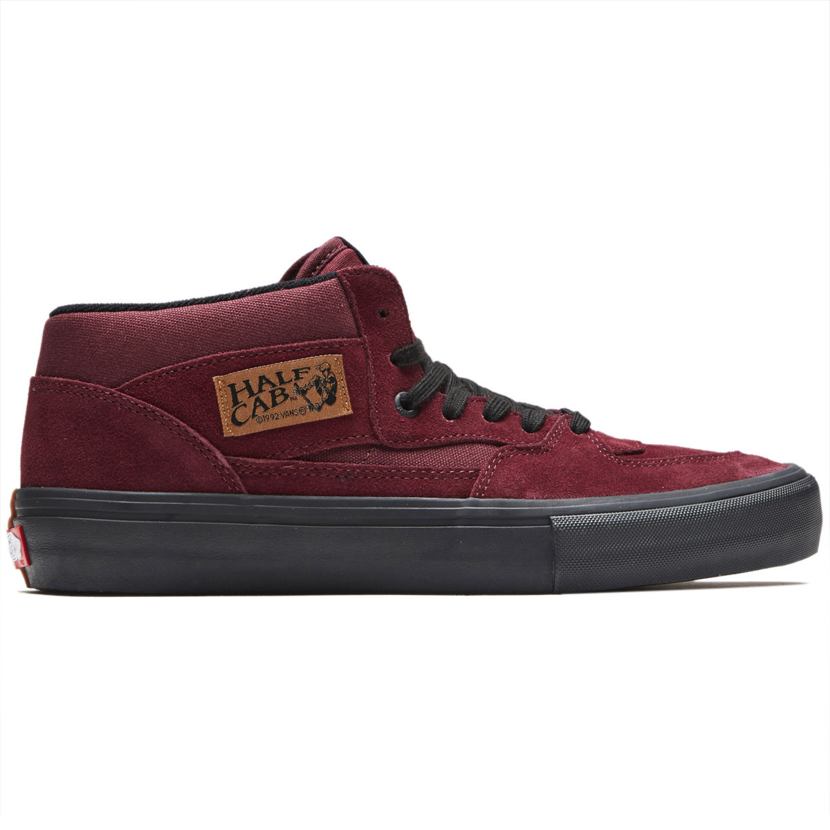 f6f8461fe587 Vans Half Cab Pro Shoes - Port Royale Black - 8.0