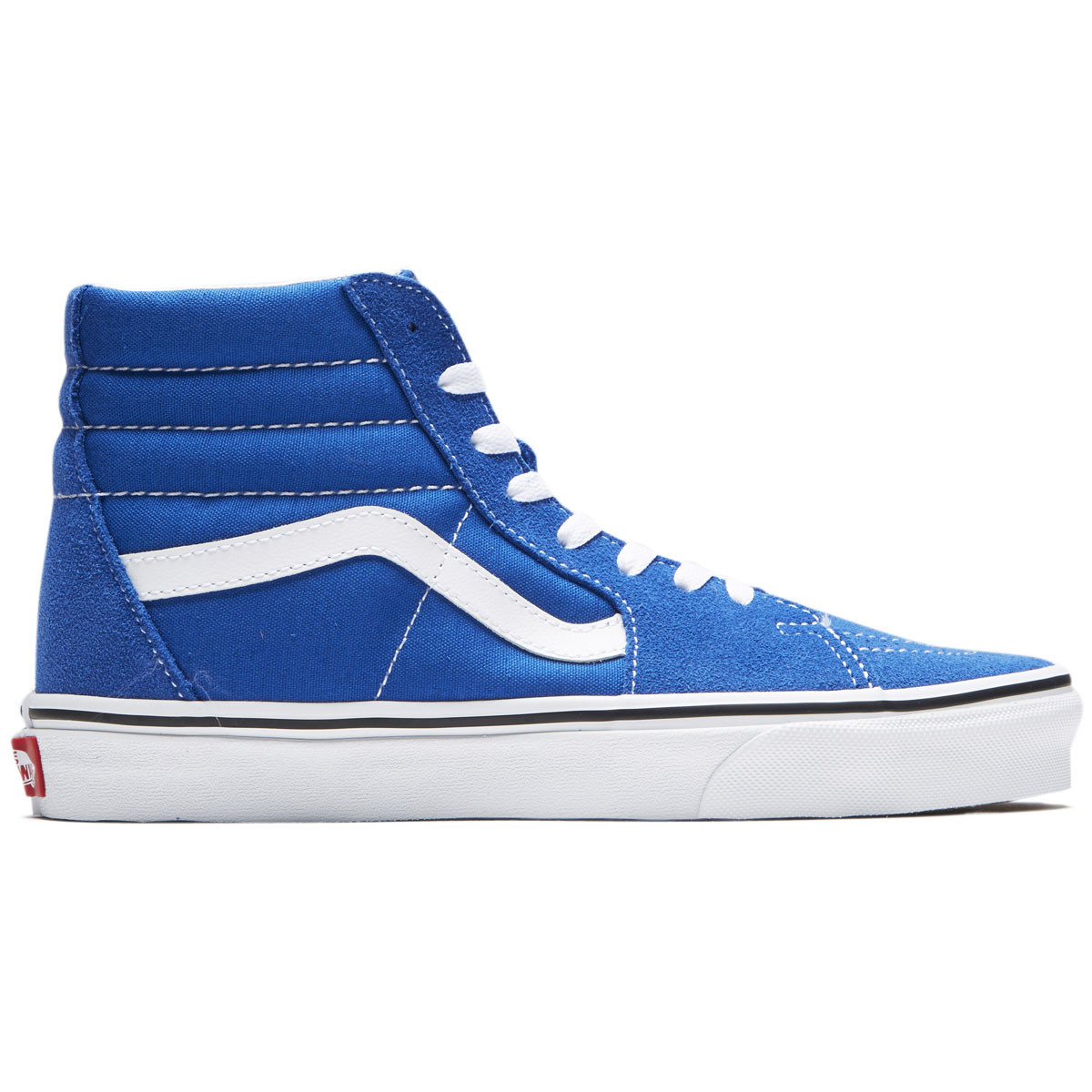 61206b97bf08f8 Vans Unisex Sk8-Hi Shoes - Lapis Blue True White - 4.5