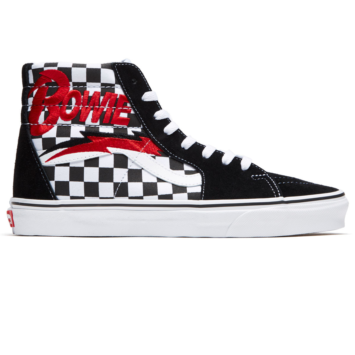 Vans x David Bowie Sk8 Hi Shoes