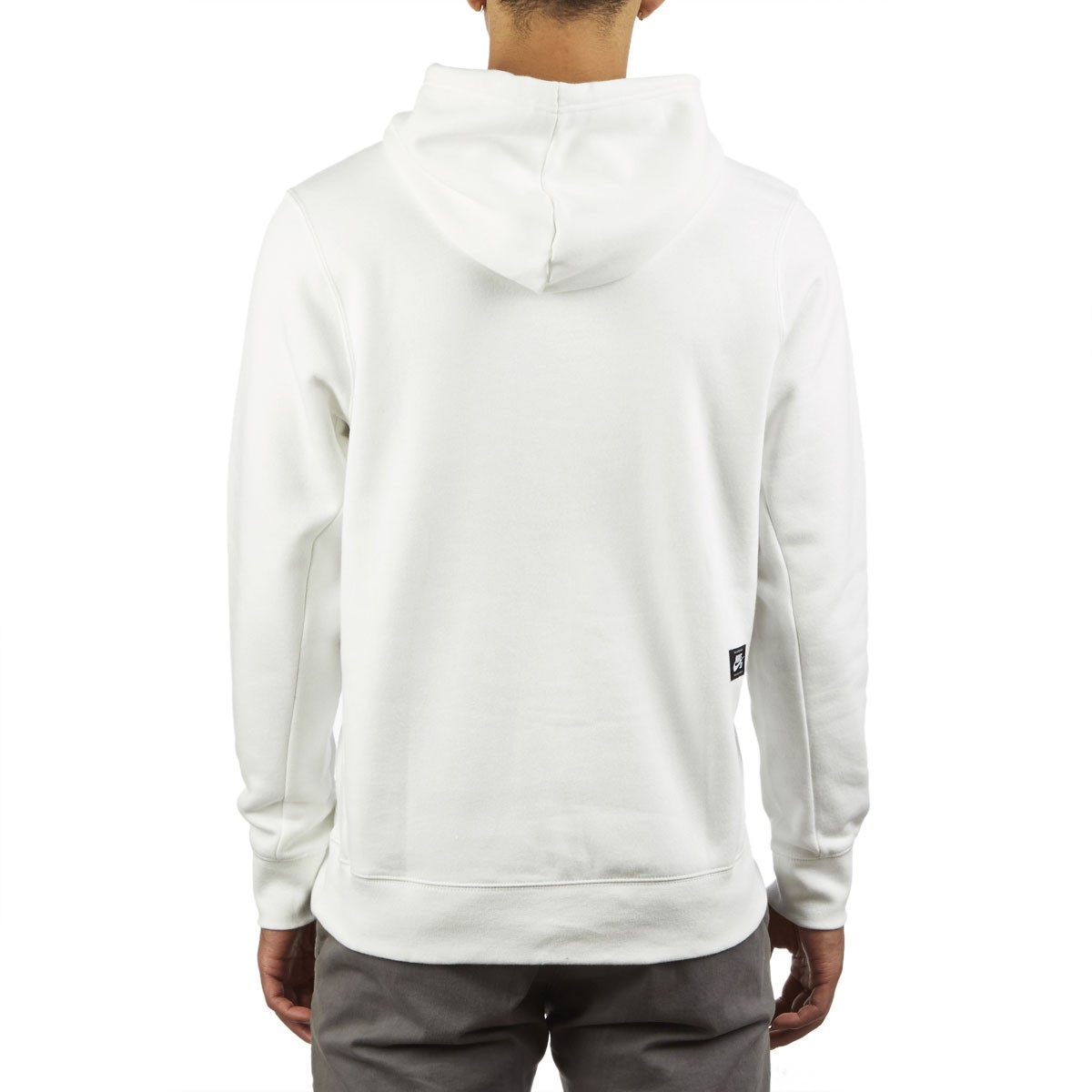 Nike SB Icon Hoodie (summit white rose gold)