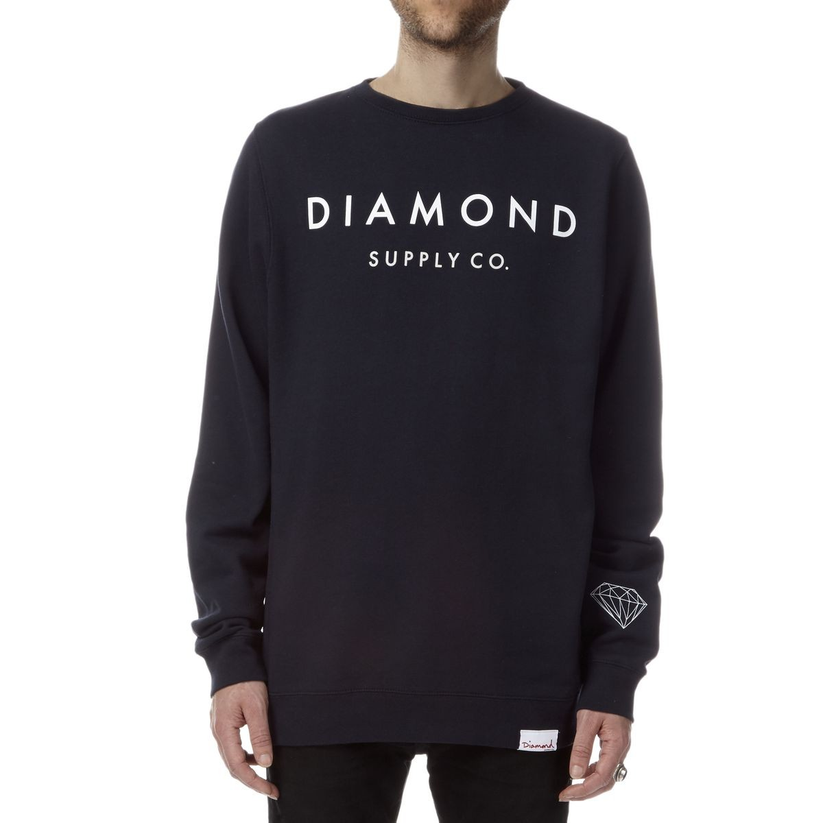 Diamond Supply Co. Yacht Type Crewneck Sweatshirt - Navy