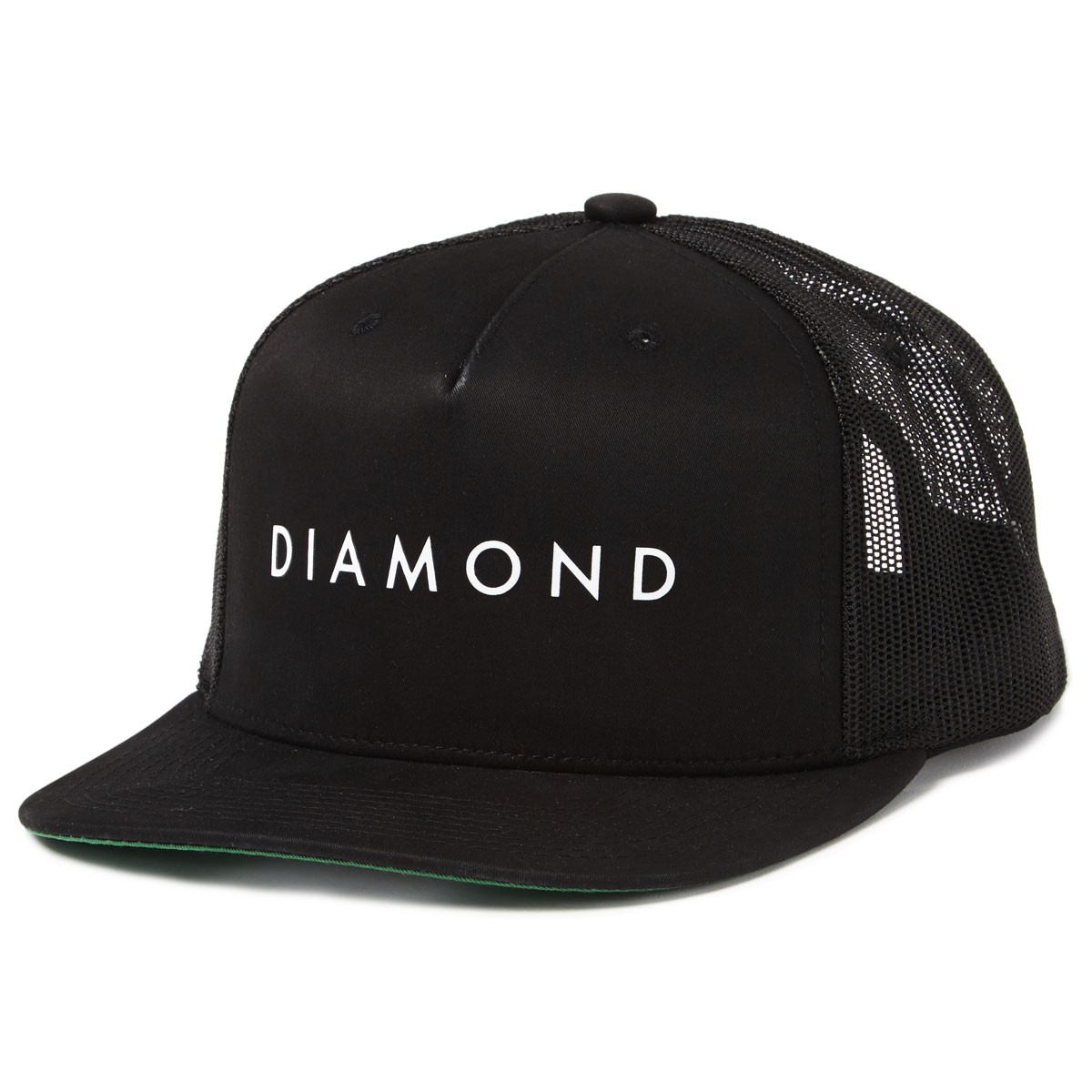 Diamond Supply Co. Diamond Snapback Hats - Black