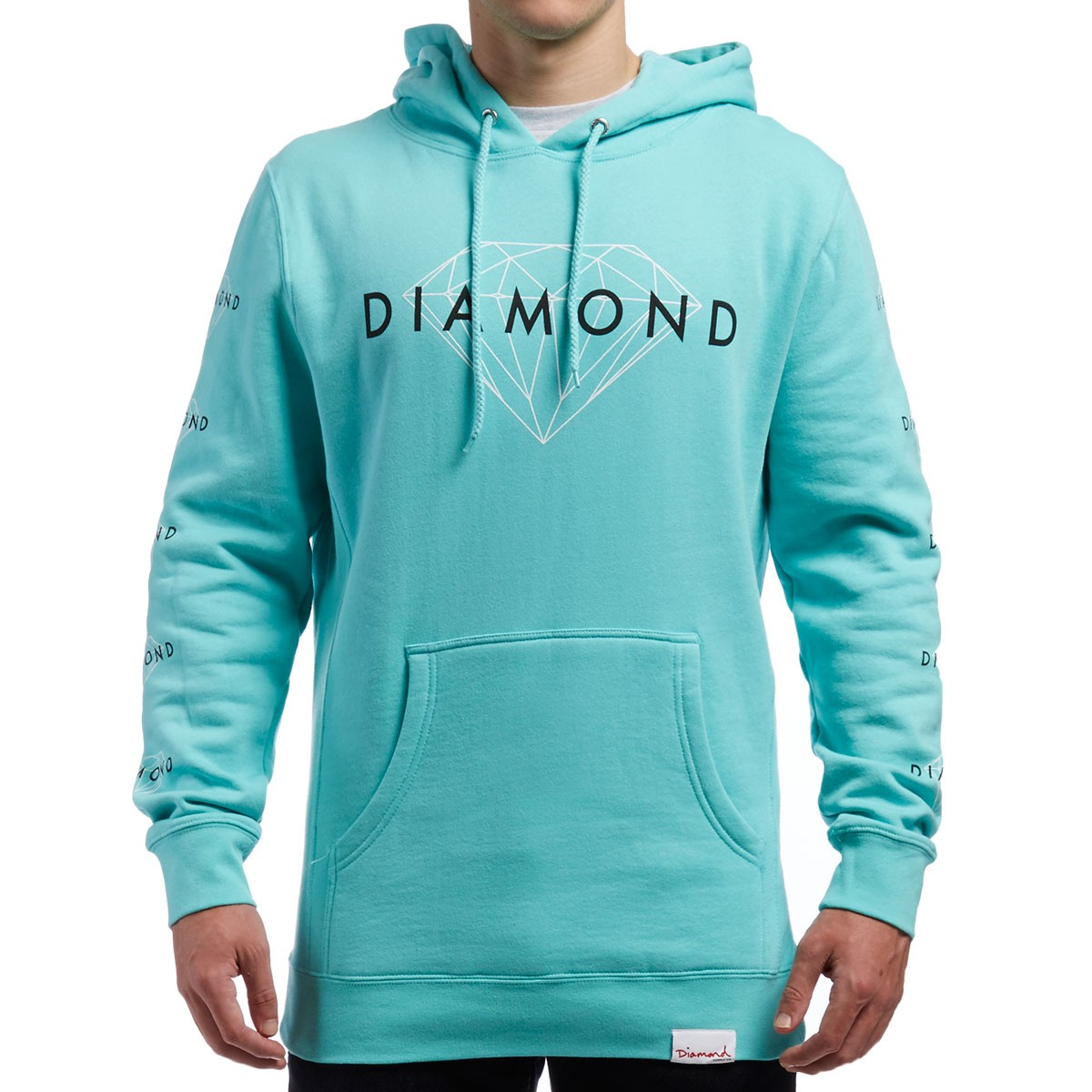 Diamond Supply Co. Brilliant Hoodie - Diamond Blue