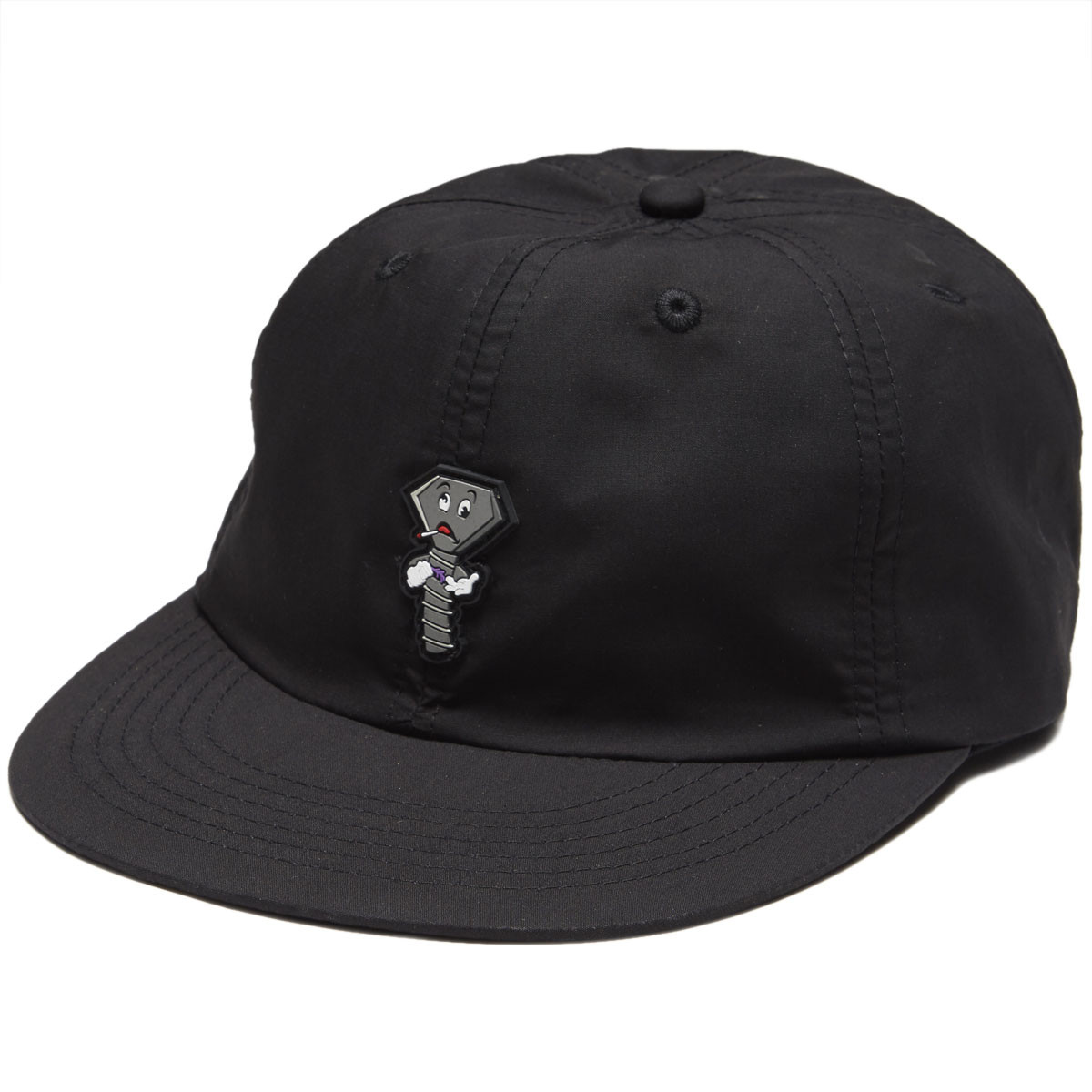 c6a6c81dcb385 ... czech diamond supply co. screwed up unstructured 6 panel clipback hat  black ed094 19e6f