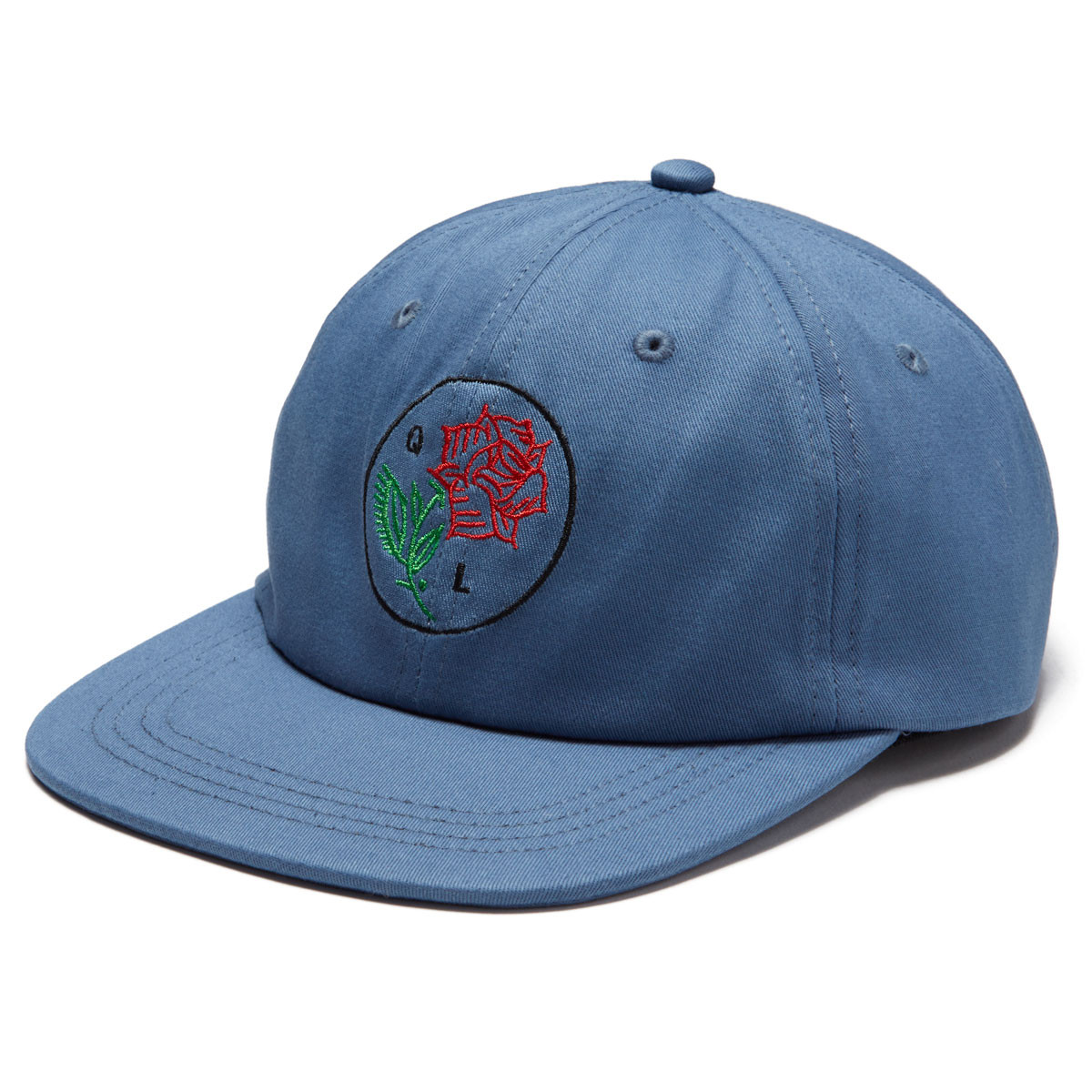 51044ab8868 The Quiet Life Rose Polo Hat - Blue