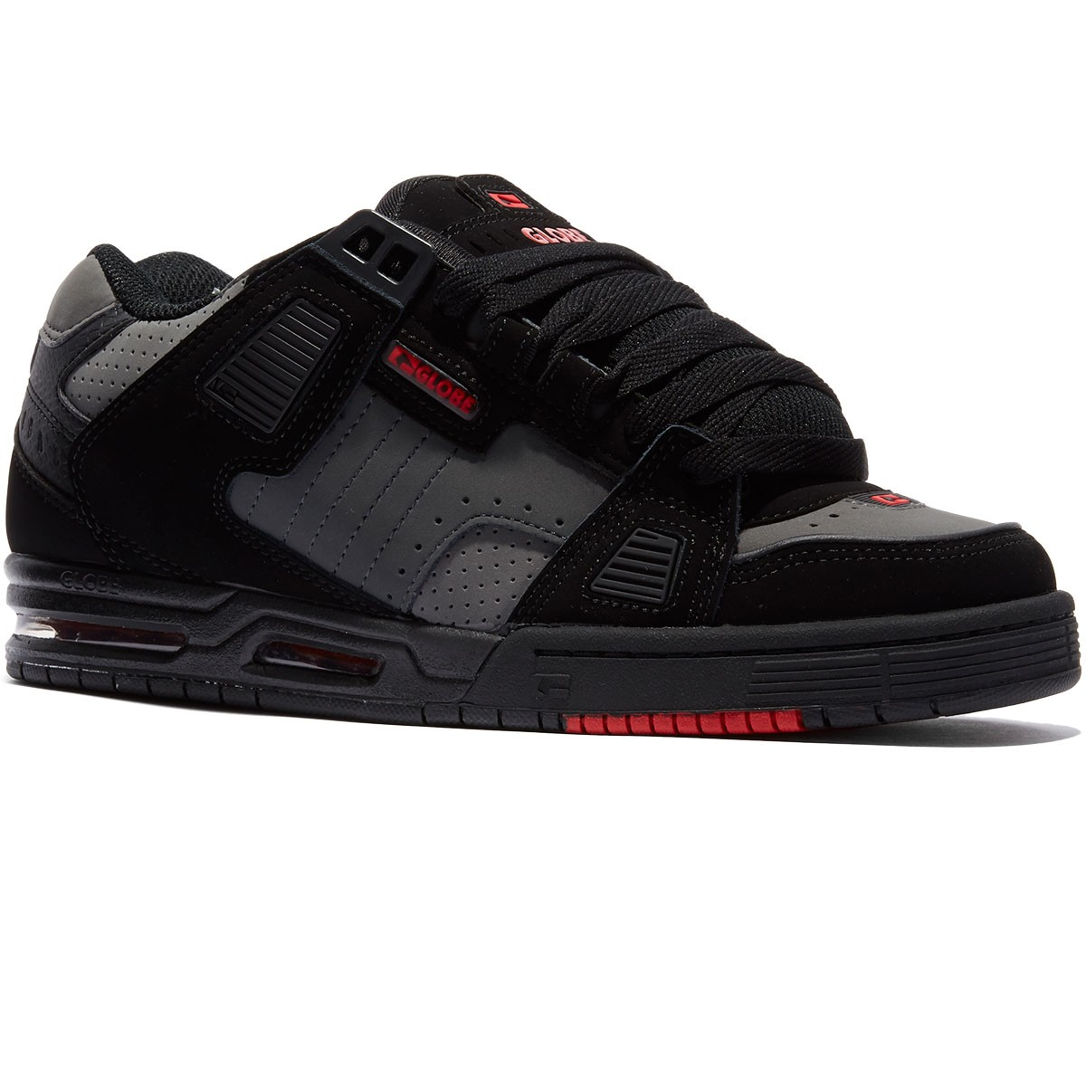 Globe Sabre Shoes - Black/Shadow/Red - 8.0