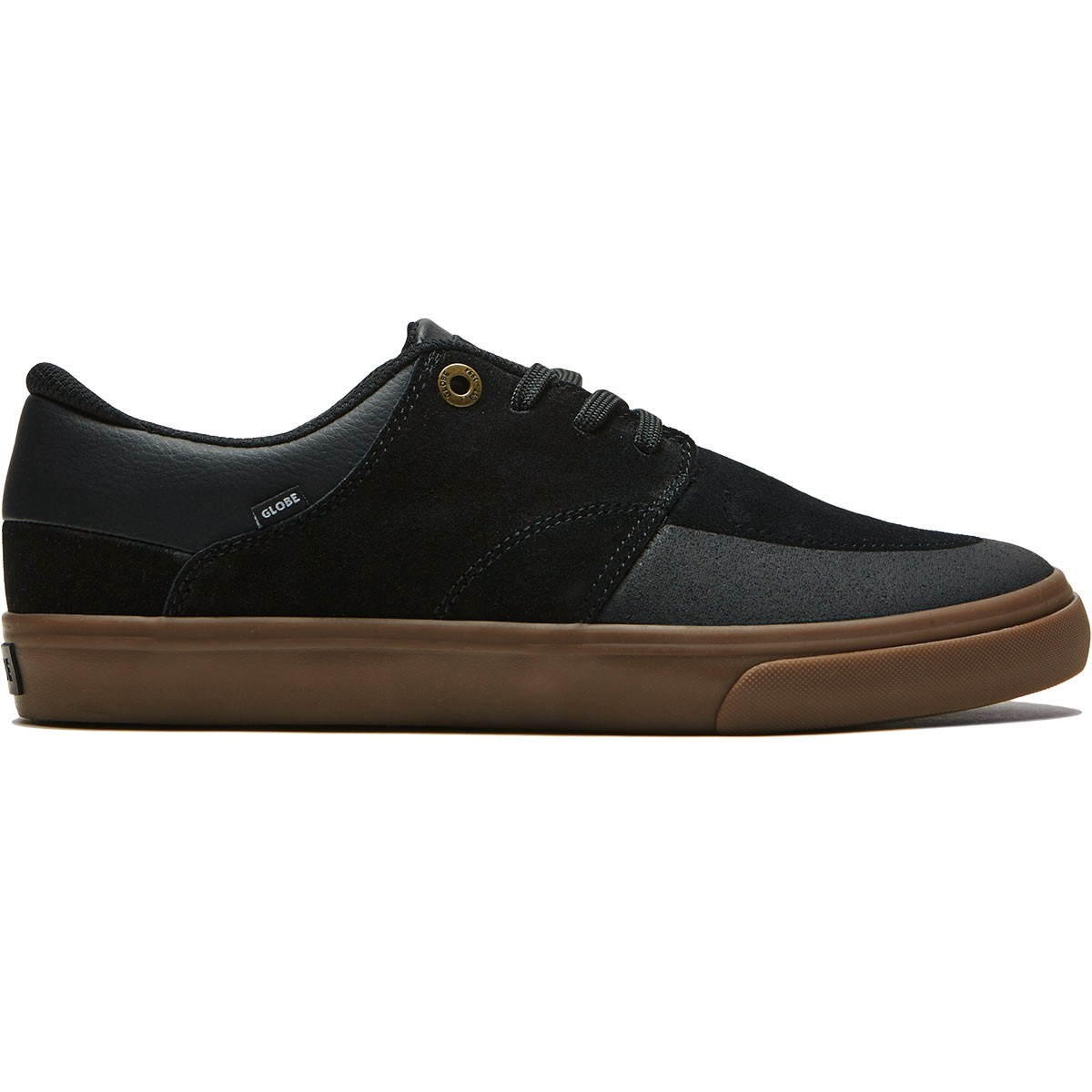 Globe Chase Shoes - Black/Gum - 8.5