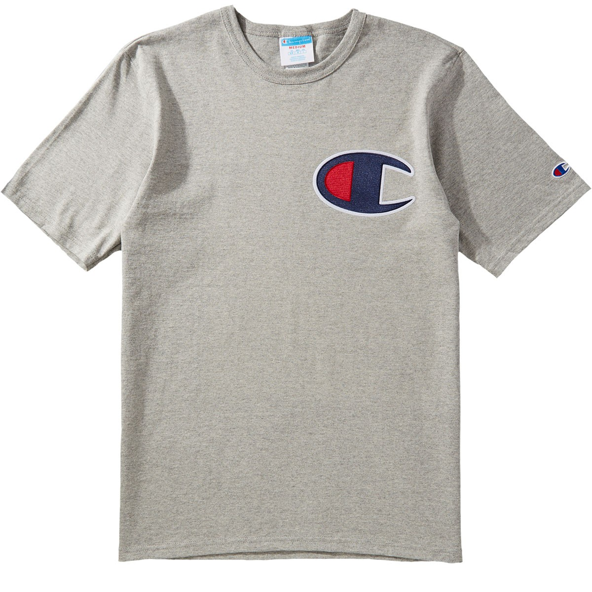 2dad601bf3d6b1 Champion Heritage T-Shirt - Oxford Grey