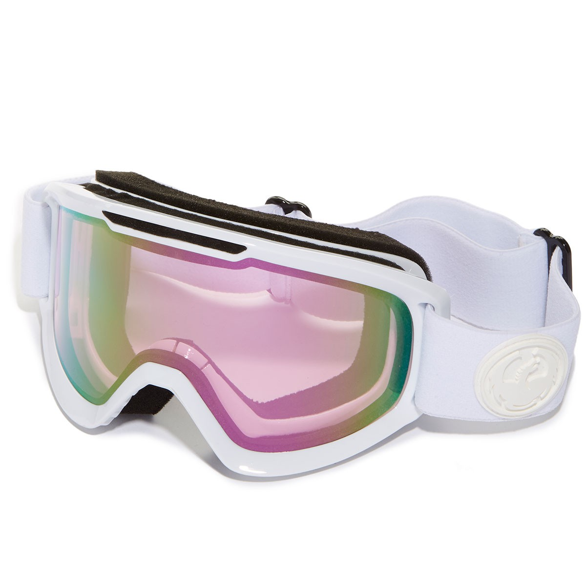 Dragon DX2 Snowboard Goggles - Whiteout/Pink Ion