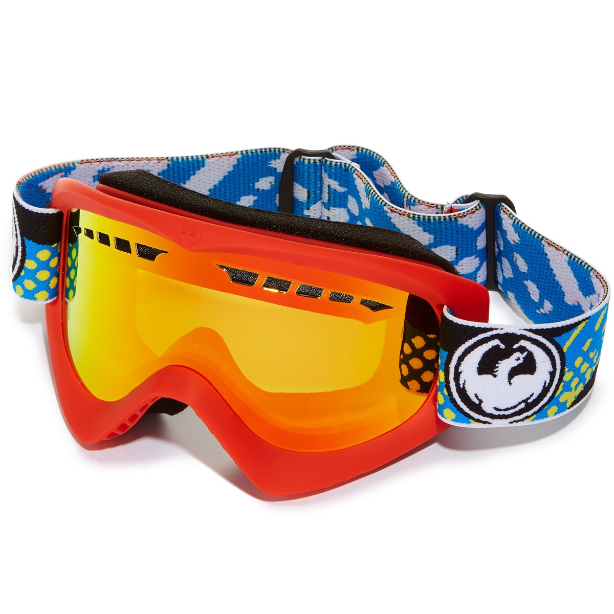 Dragon DX Snowboard Goggles - Future/Yellow Red Ion