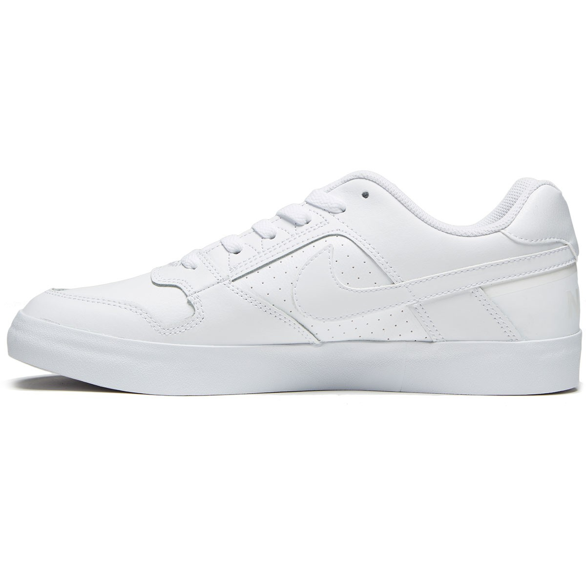 f08109d74344 Nike SB Delta Force Vulc Shoes - White White White - 8.0