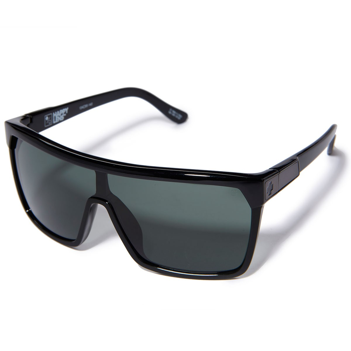 Spy Sunglasses Flynn  flynn sunglasses soft matte black tort fade happy gray green