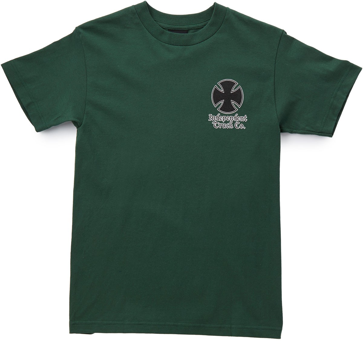 Independent Time Is Short T-Shirt - Forest Green