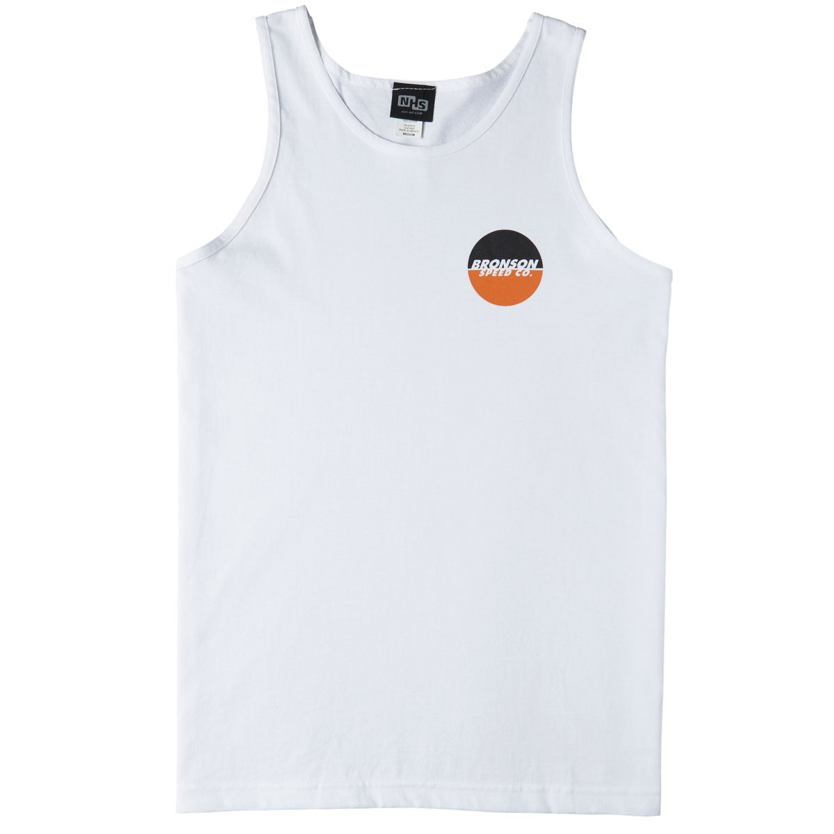 1dd28bdb271 Bronson Speed Co Spot Logo Tank Top - White