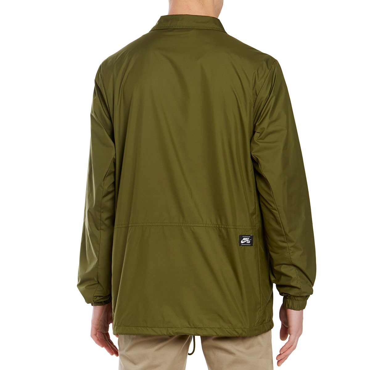 d36352b97b5b Nike SB Shield Coaches Jacket - Legion Green Palm Green