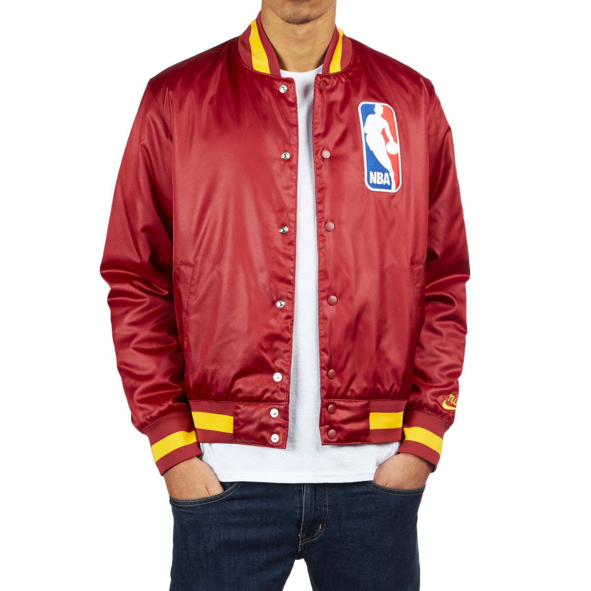 3479a448ccc2 Nike SB X NBA Cleveland Bomber Jacket - Team Red Team Red ...