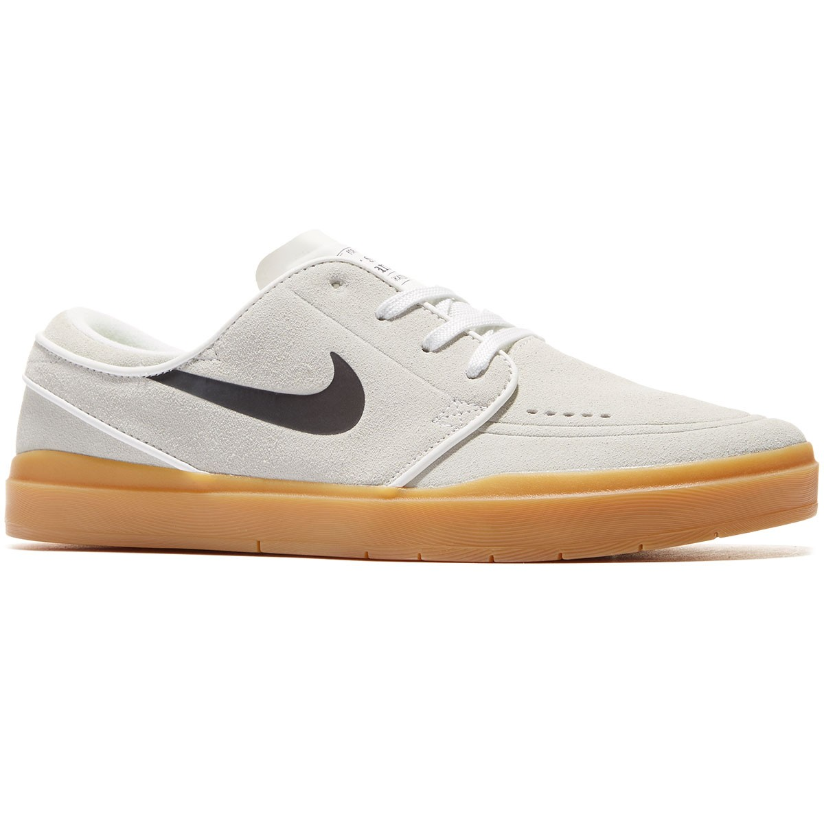 Nike SB Stefan Janoski Hyperfeel Shoes - White/Gum/Black - 8.0