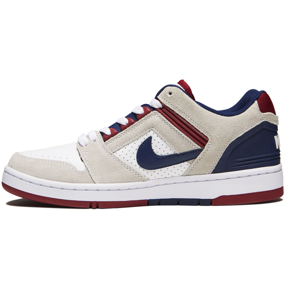 31980859c72 Nike SB Air Force II Low Shoes - White Blue Void Red Crush White