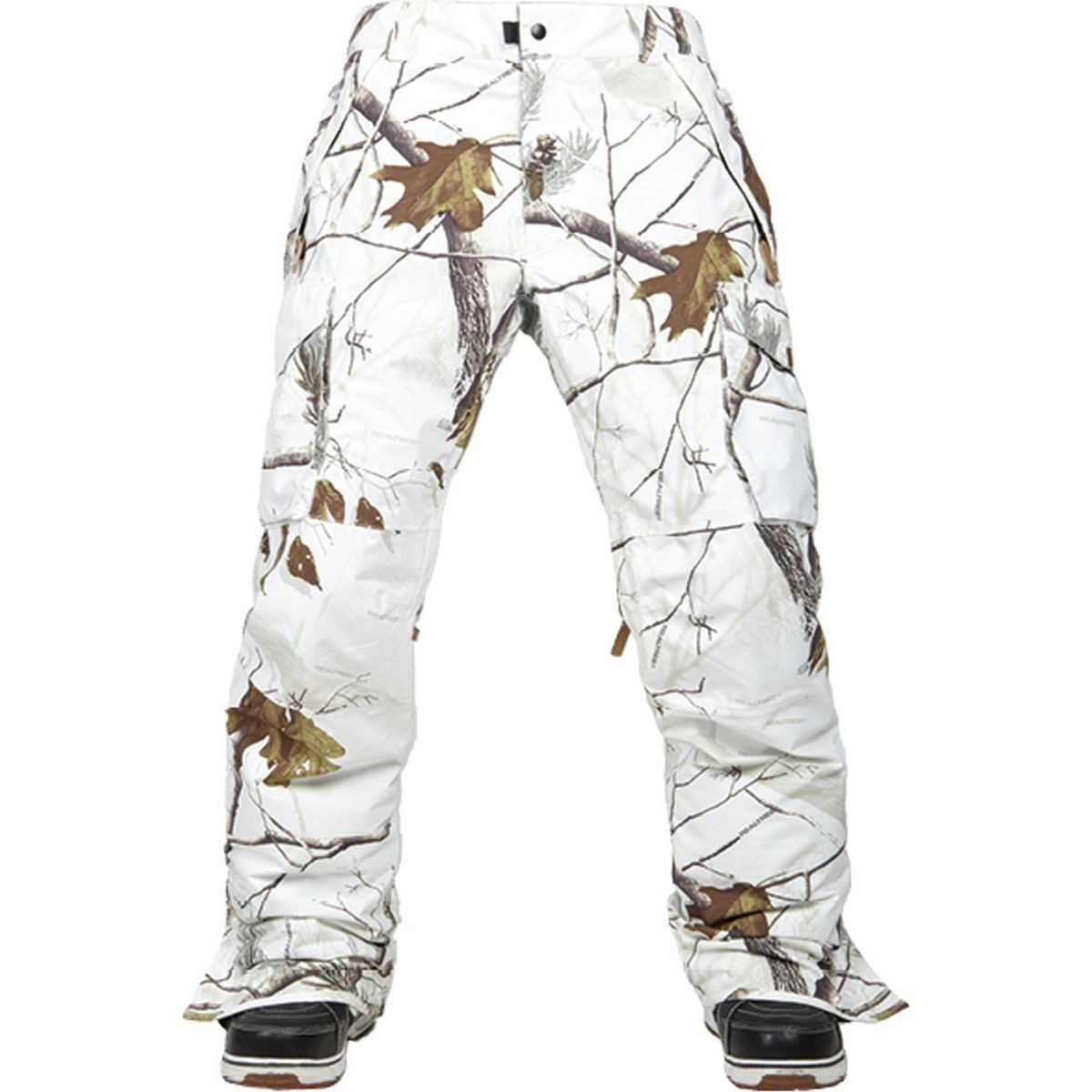 686 Authentic Infinty Shell Cargo Snowboard Pants Realtree Ap Snow 11506662842