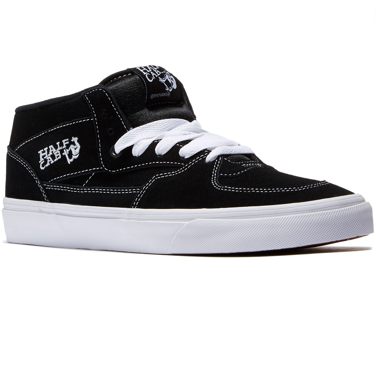 8e66b94d554189 Vans Half Cab Shoes - Black - 6.0