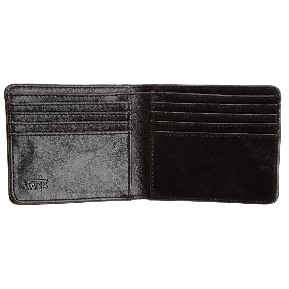 ed04d2b2ee7a31 Vans Full Patch Bifold Wallet - Black