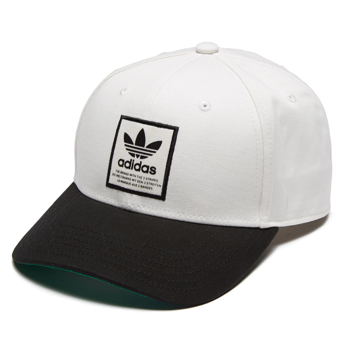 9f020d368b6fc ... coupon code for adidas originals trefoil patch snapback hat chalk white  black ab2b4 bd957