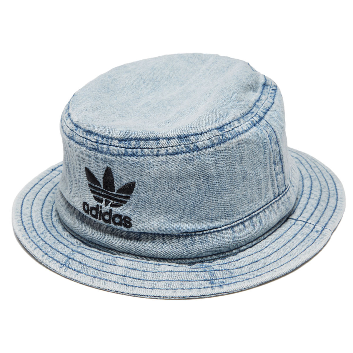 Adidas Originals Denim Bucket Hat - Collegiate Navy Black dae2082f326