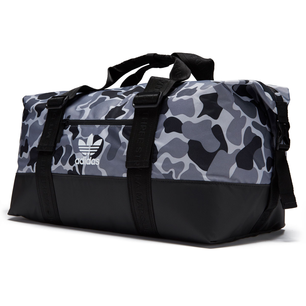 Adidas Originals Weekender Duffle Bag - Aop Camo Grey bb815a9d7