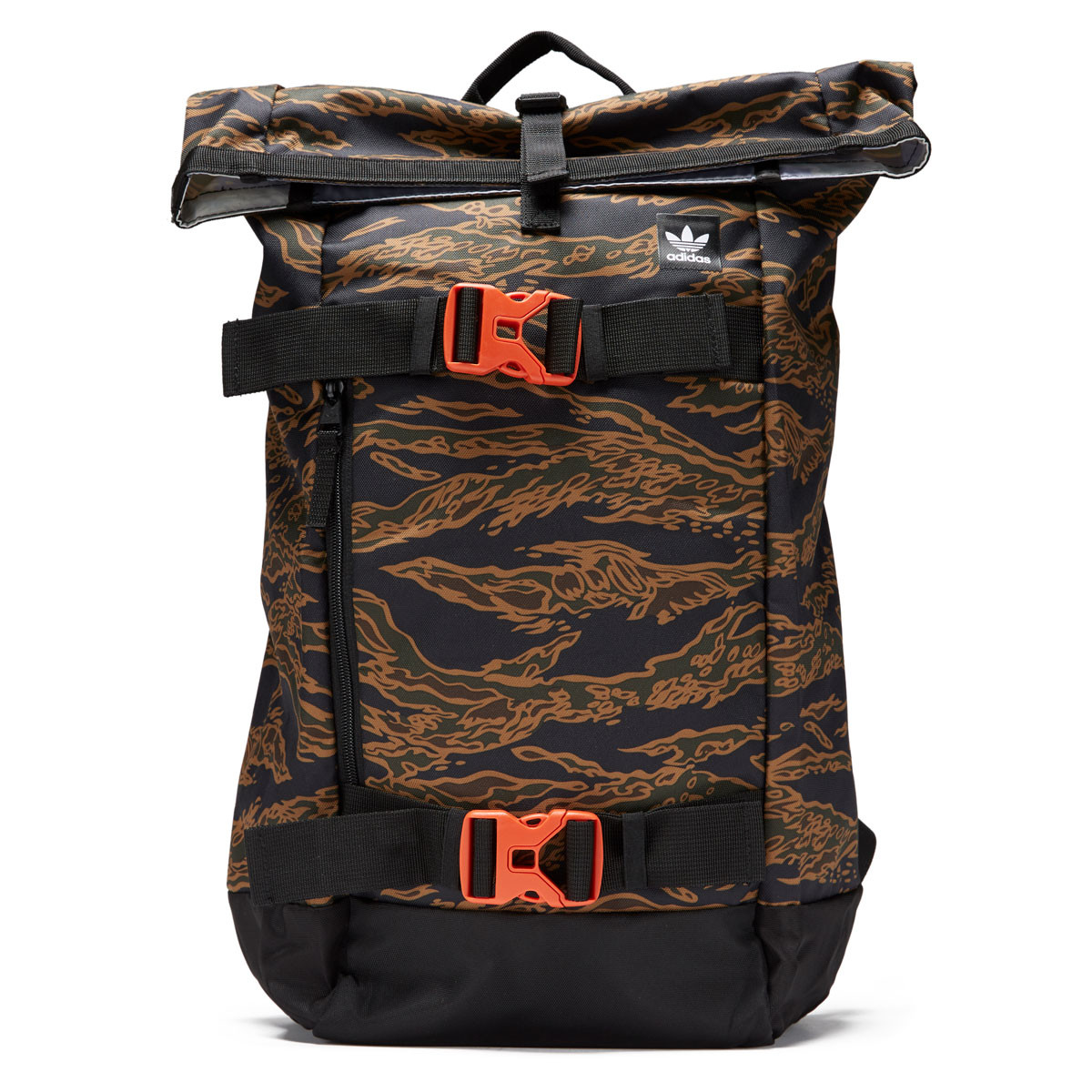 Adidas Strapped Caisson Backpack - Night Cargo Tiger Camo Orange bc1465bdd5d69