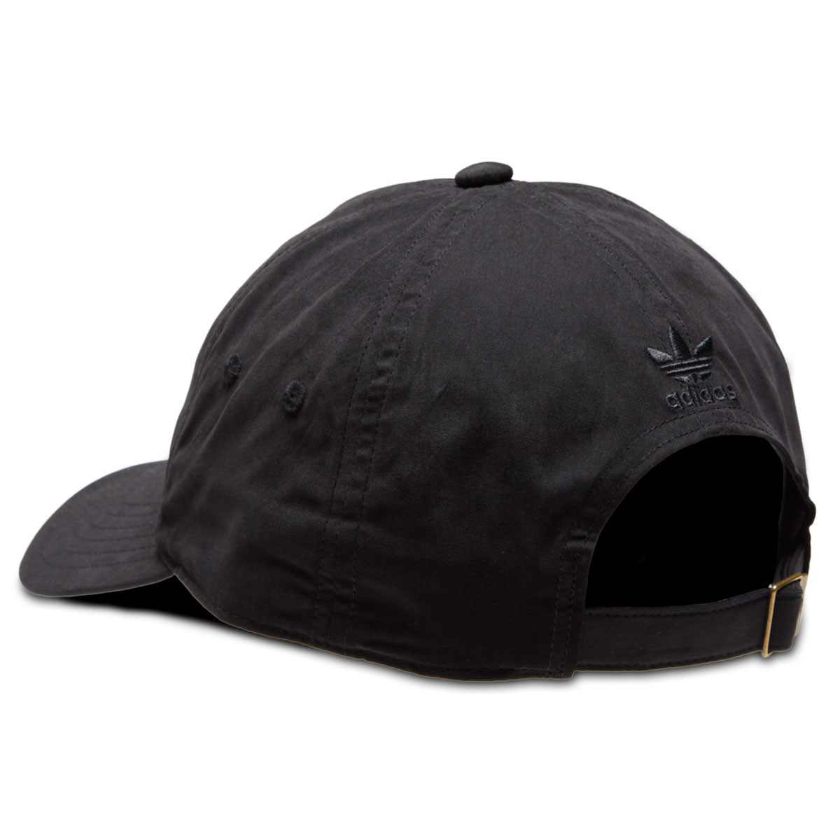 c7005226afb Adidas Originals Relaxed Metal Strapback Hat - Black Antique Gold