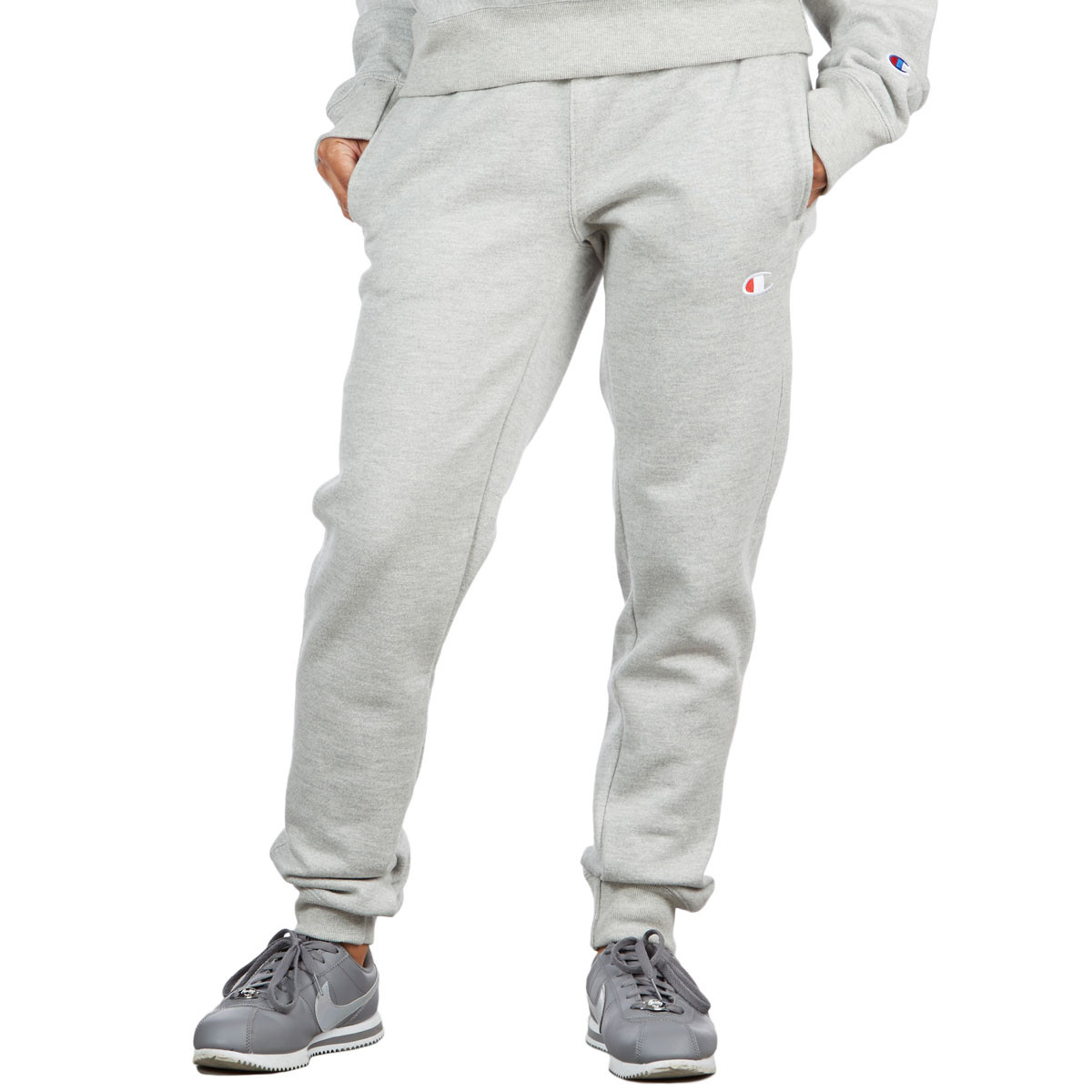 a84aa6c64b57 Champion Womens Reverse Weave Jogger Pants - Oxford Gray