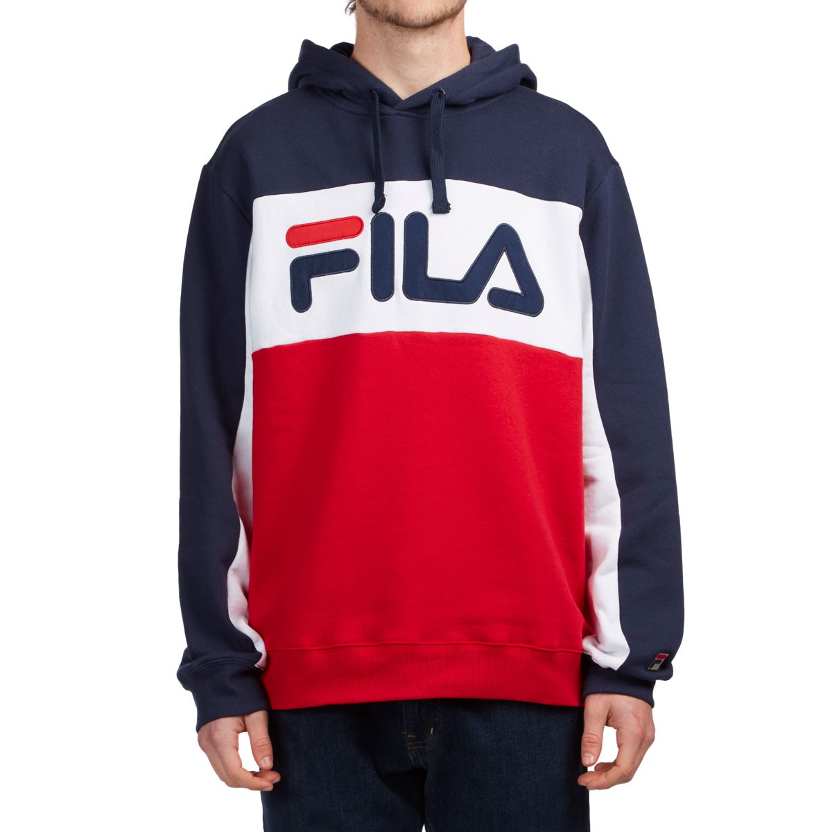 baf08d6a9d60 FILA Todd Hoodie - Navy/White/Chinese Red