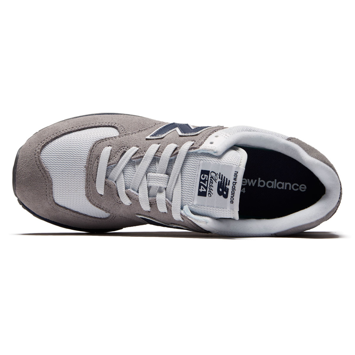 1f21e4cb8a5 New Balance 574 NB Core Plus Shoes - Gunmetal Navy - 10.0
