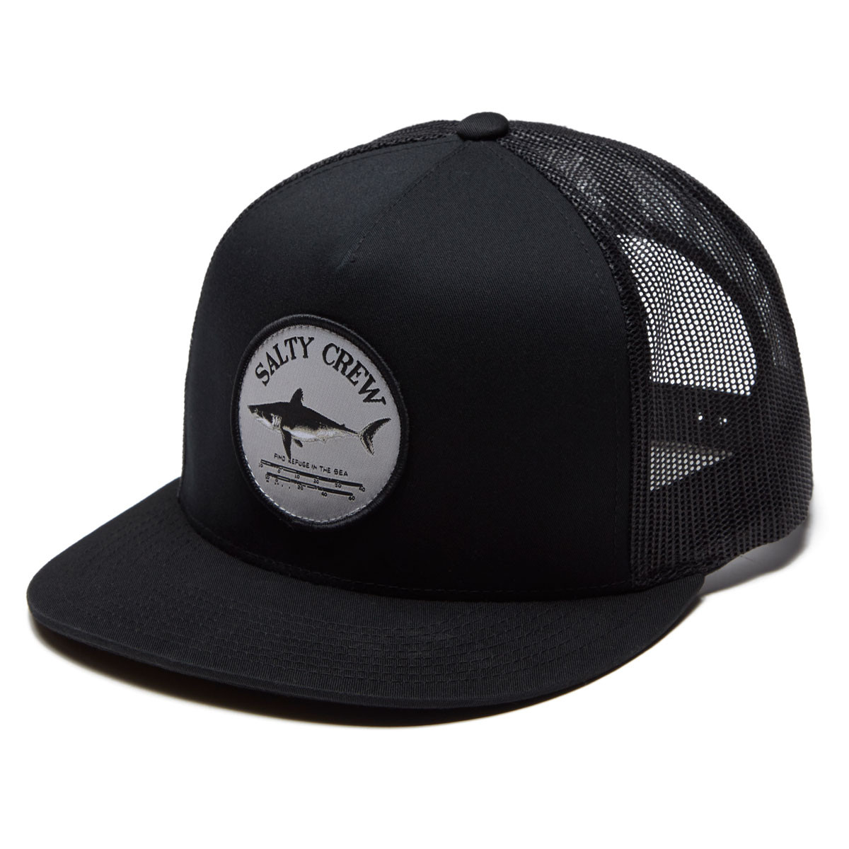 los angeles dfbea 2462d Salty Crew Bruce Trucker Hat - Black
