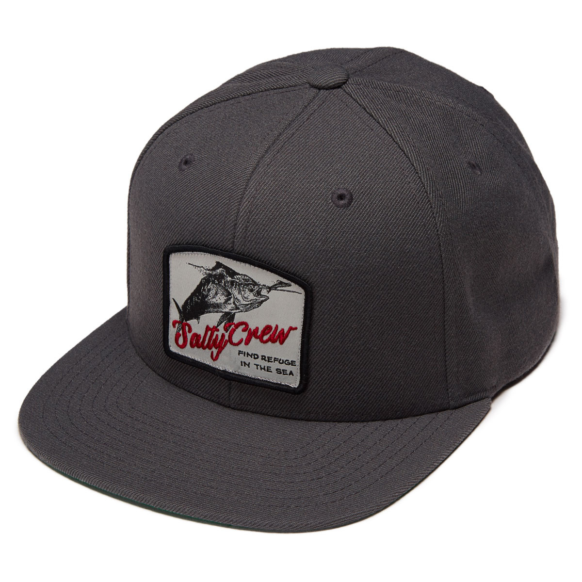 the best attitude a1d54 ddcdc usa salty crew stacked hat tackledirect 28bb7 17821  authentic salty crew  seeker hat charcoal c6058 99b5f