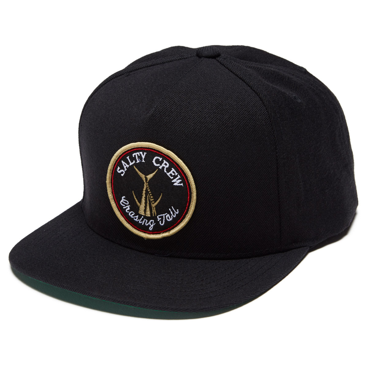 new concept 958e8 9a745 get salty crew tails up 5 panel hat black 0ab84 60e3d