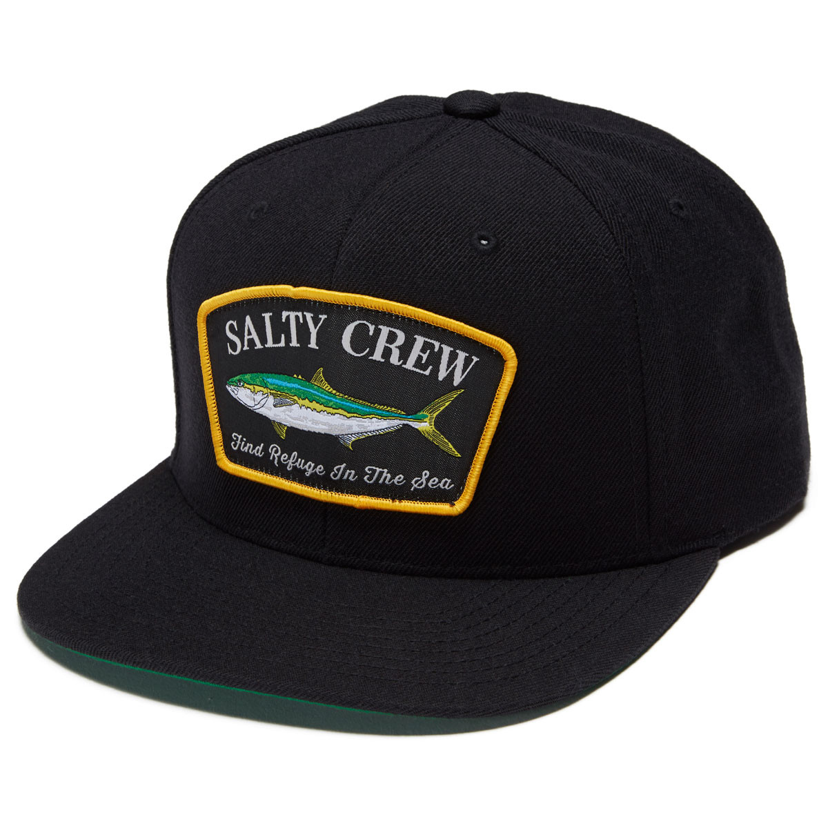 outlet store 34e32 29b02 ... get salty crew mossback 6 panel hat black a7c8e fb869